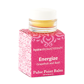 hydraAROMATHERAPY | Pulse Point Balm - Energize