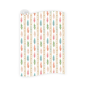 Dixie Design / Dogwood Hill | Finial Ornaments Wrapping Paper Roll