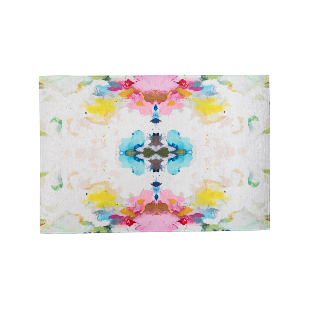 Laura Park Designs | Flower Child Floor Mat