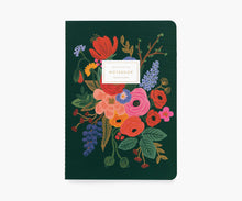 Load image into Gallery viewer, Rifle Paper Co. | Set of 3 Garden Party Notebooks