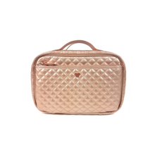 Load image into Gallery viewer, PurseN | Getaway Liea Toiletry Case - Copper Quilted