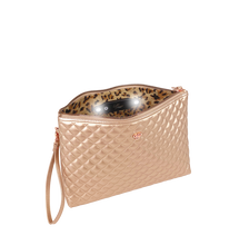 Load image into Gallery viewer, PurseN | Getaway Litt Large Makeup Case - Copper Quilted