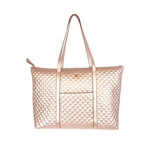 PurseN | Getaway Tote - Copper Quilted