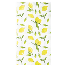 Load image into Gallery viewer, Lemon Drop Guest Towels