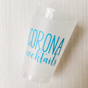 Corona Cocktails Frost Flex Cups