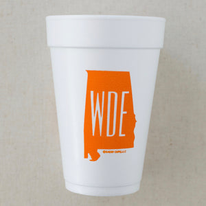 WDE | State Styrofoam Cups