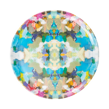 Load image into Gallery viewer, Laura Park Designs | Indigo Girl Blue Melamine Plate