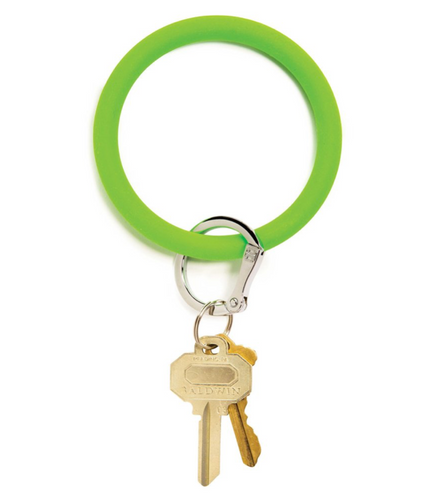 Oventure | Big O Silicone Key Ring - In the Grass