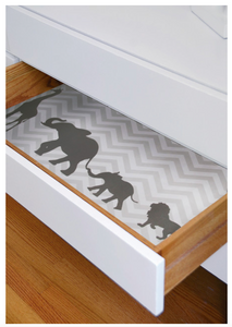Scented Drawer Liner | Jungle Baby's Dream
