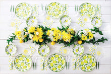 Load image into Gallery viewer, Wavy Lemon Drop Dinner Plate