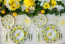 Load image into Gallery viewer, Wavy Lemon Drop Salad Plate