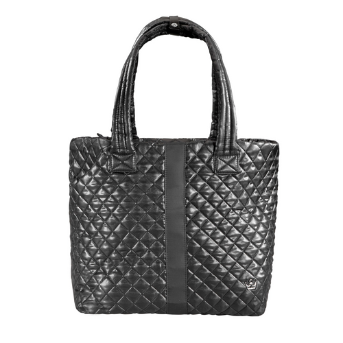 The Oliver Thomas | Wingwoman Large Tote - Black