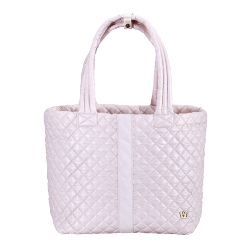 The Oliver Thomas | Wingwoman Large Tote - Petal Pink