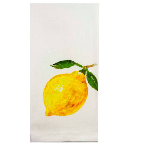 Single Lemon Tea Towel