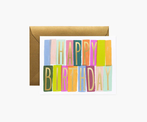 Rifle Paper Co. | Mérida Birthday Card
