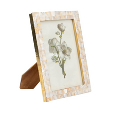 Load image into Gallery viewer, Mother of Pearl Picture Frame