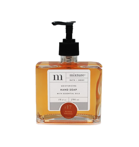 Mixture Luxury Moisturizing Hand Soap | No. 17 Blood Orange
