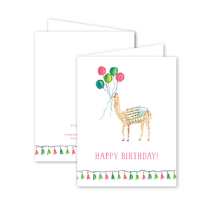 Dixie Design | Party Llama Birthday Card
