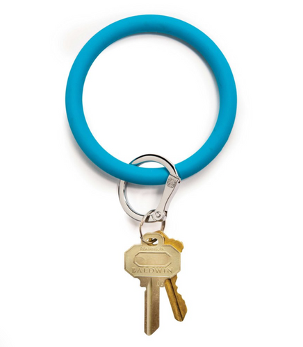Oventure | Big O Silicone Key Ring - Peacock