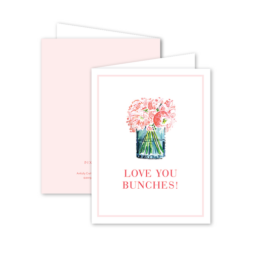 Dixie Design | Peony Bunches Card