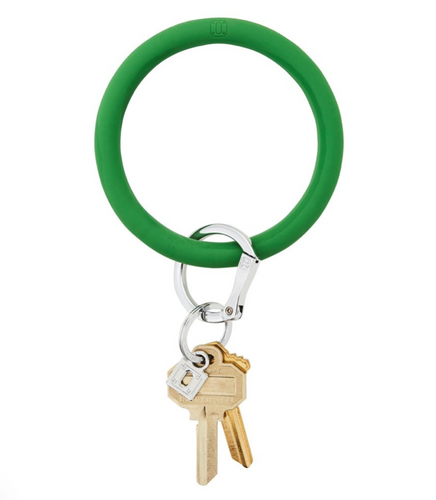 Oventure | Big O Silicone Key Ring - Shamrock