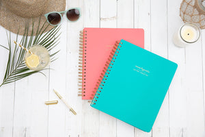 momAgenda Home Office Edition Planner | Coral