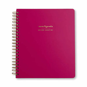 momAgenda Home Office Edition Planner | Raspberry