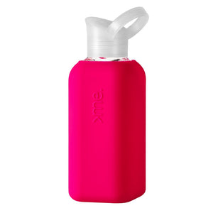 Squireme Glass Bottle | Pink