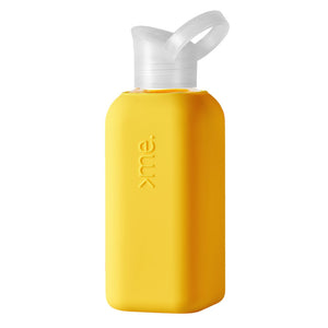 Squireme Glass Bottle | Yellow