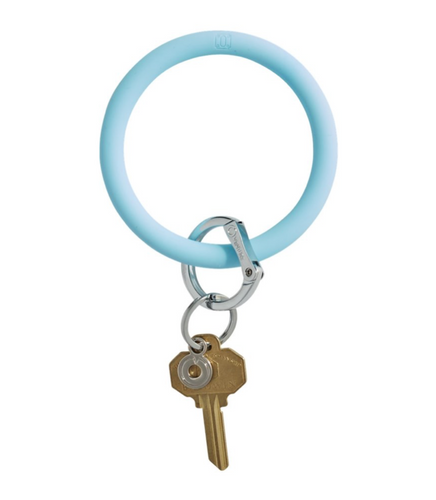 Oventure | Big O Silicone Key Ring - Sweet Carolina Blue