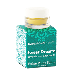 hydraAROMATHERAPY | Pulse Point Balm - Sweet Dreams