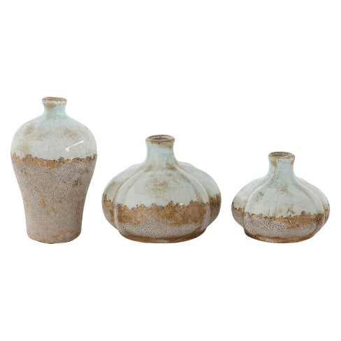 Distressed Terra-cotta Vases