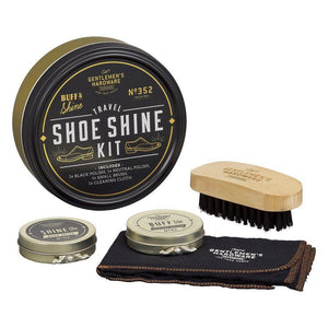 Gentleman's Hardware | Travel Shoe Shine Tin