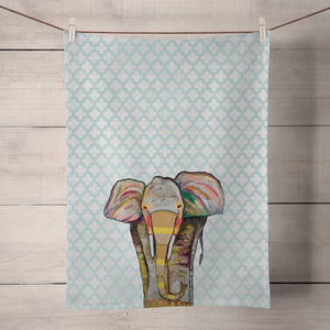 GreenBox Art | Trendy Trunk Tea Towel