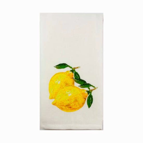 Two Lemons Tea Towel