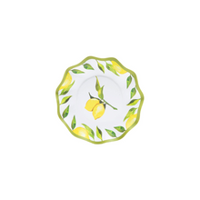 Load image into Gallery viewer, Wavy Lemon Drop Appetizer / Dessert Bowl