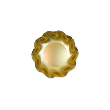 Load image into Gallery viewer, Wavy Gold Appetizer / Dessert Bowl