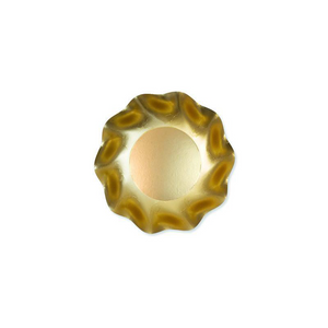 Wavy Gold Appetizer / Dessert Bowl