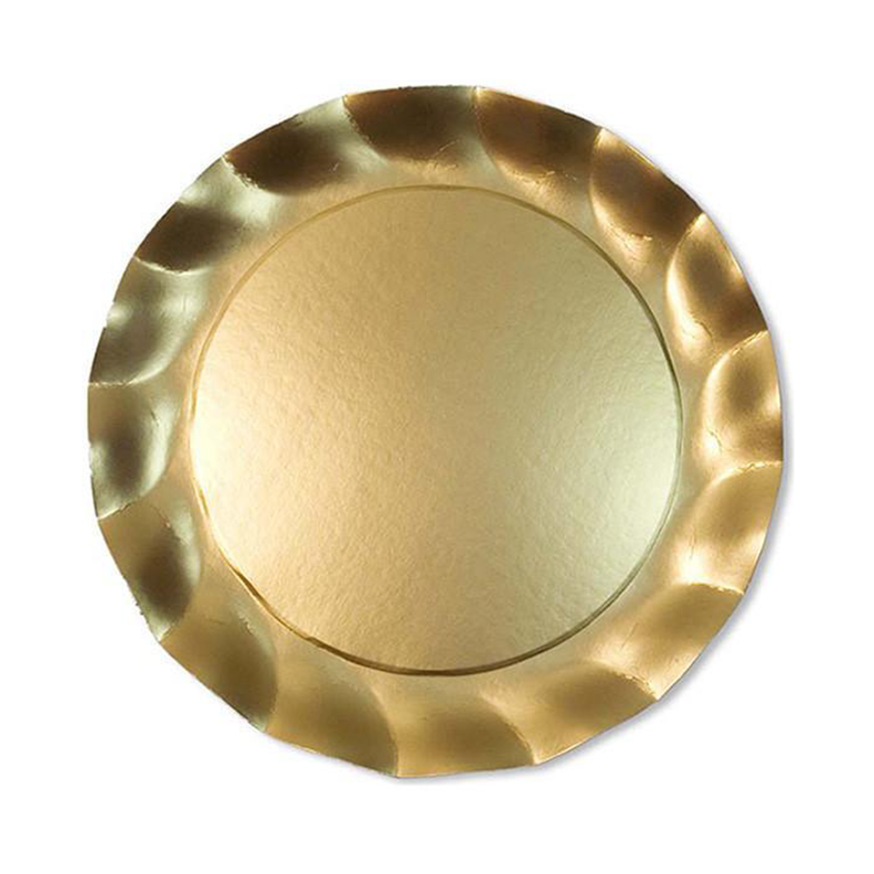 Wavy Gold Charger