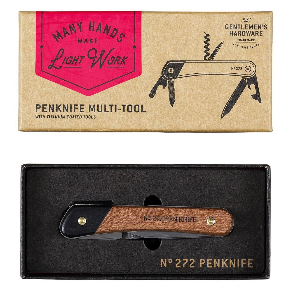 Gentleman's Hardware | Pen Knife Multi-Tool