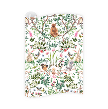 Load image into Gallery viewer, Dixie Design | Woodland Wrapping Paper Roll