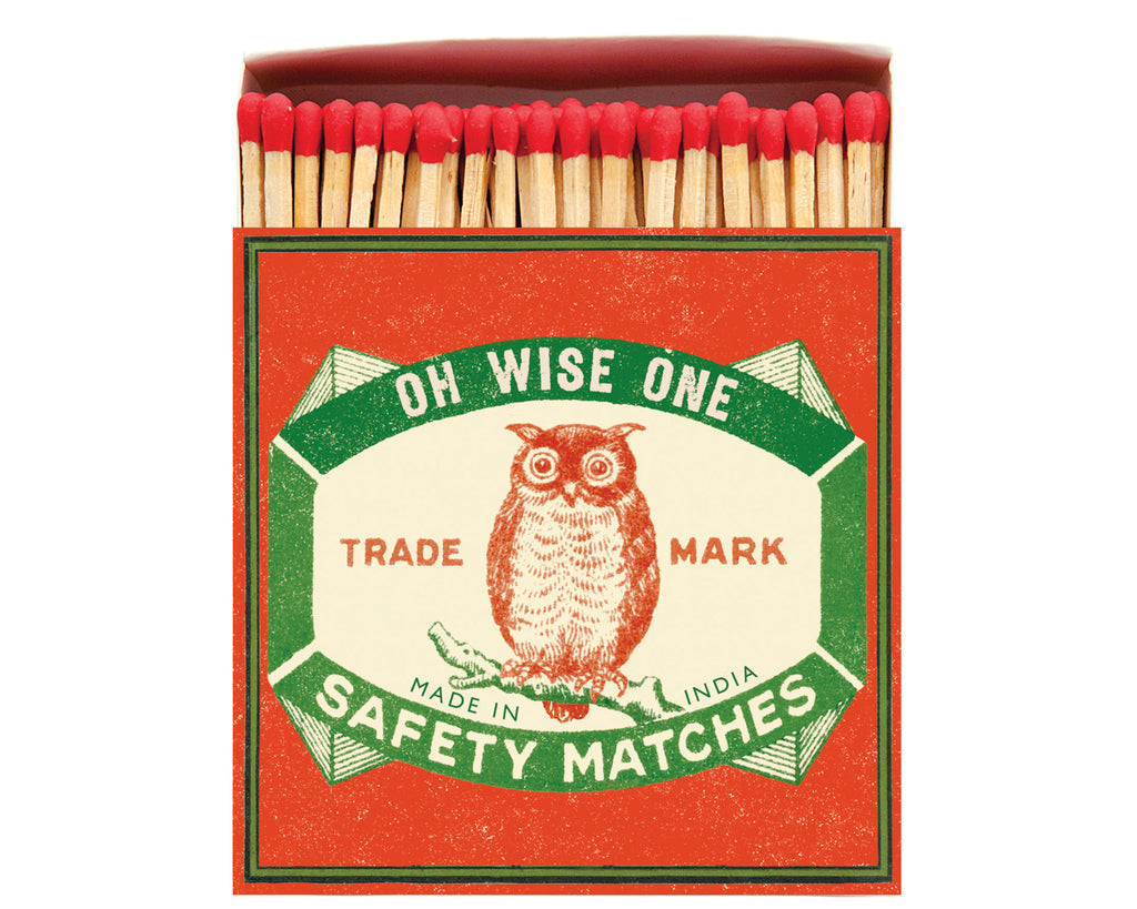 Luxury matches - The Owl