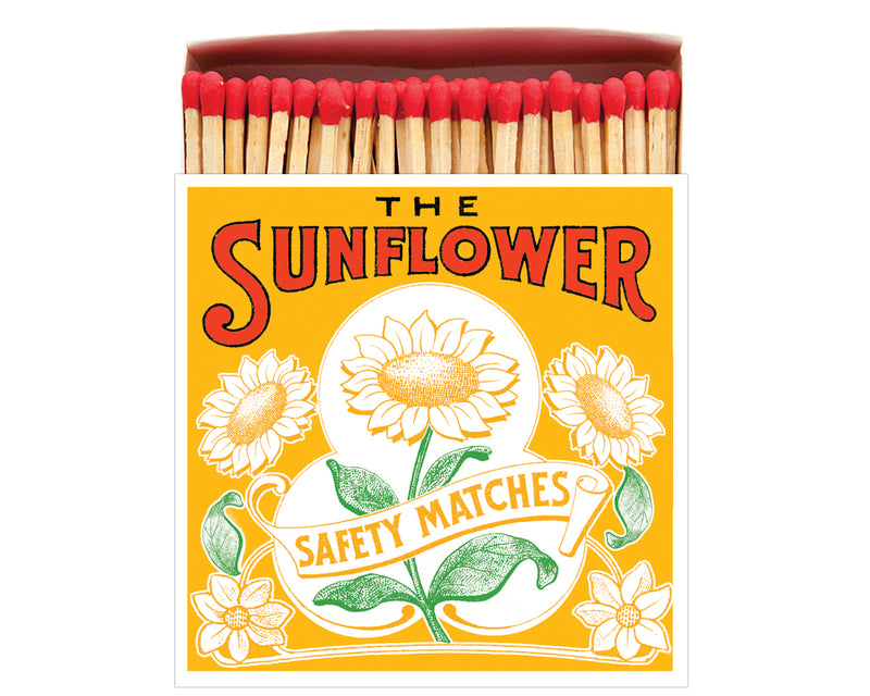 Luxury matches - Sunflower