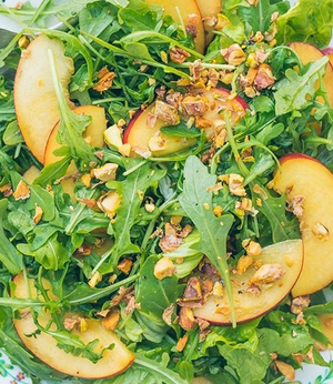 Arugula and Nectarine Salad