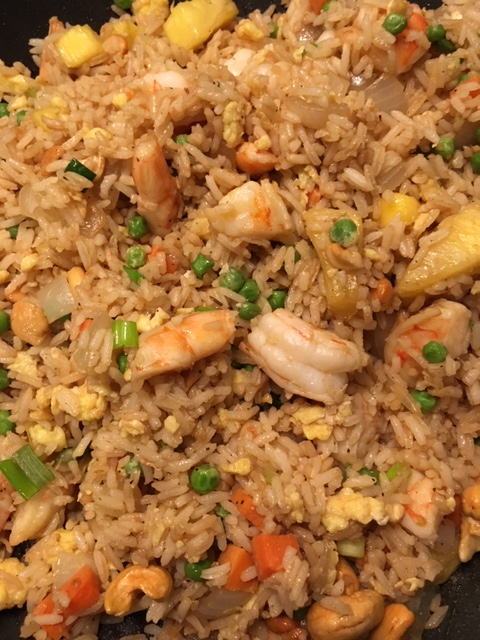 Shrimp & Pineapple Fried Rice