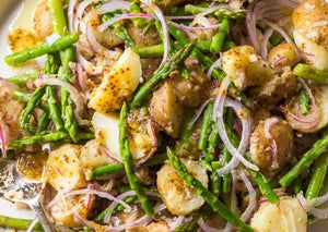 Kat's Roasted Potato and Asparagus Salad with Aioli