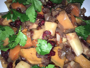 Balsamic Root Veggies in a Crockpot