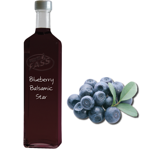 Blueberry Balsamic Star / Fruit Vinegar