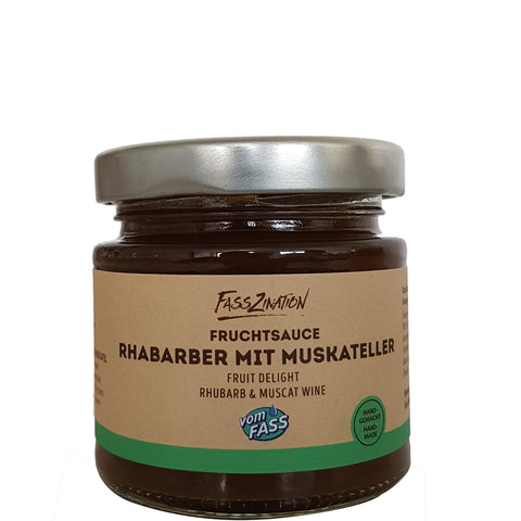 Rhubarb Muscat Wine Fruit Spread