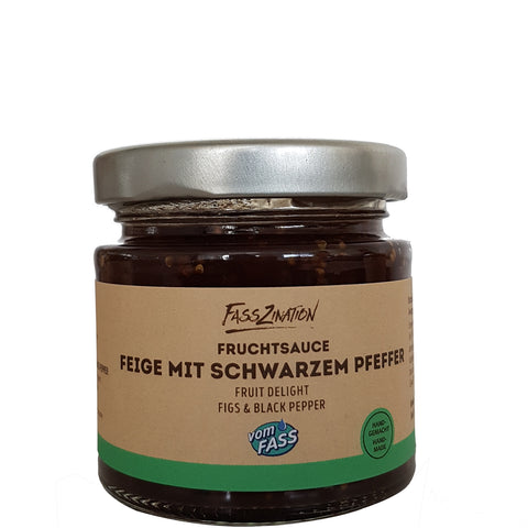 Fig and Black Pepper Fruit Spread